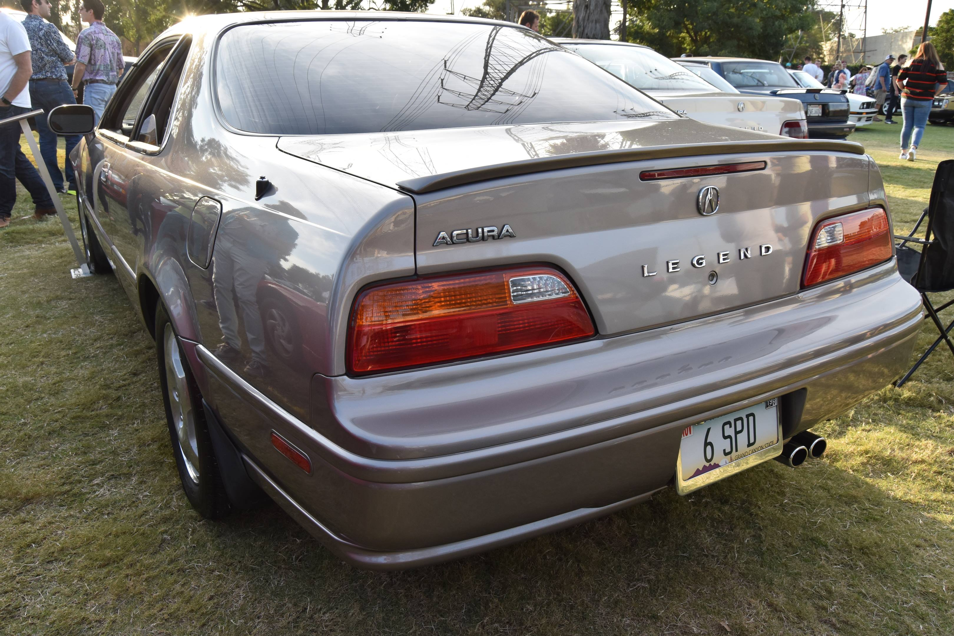 1994 Acura Legend LS Coupe rear