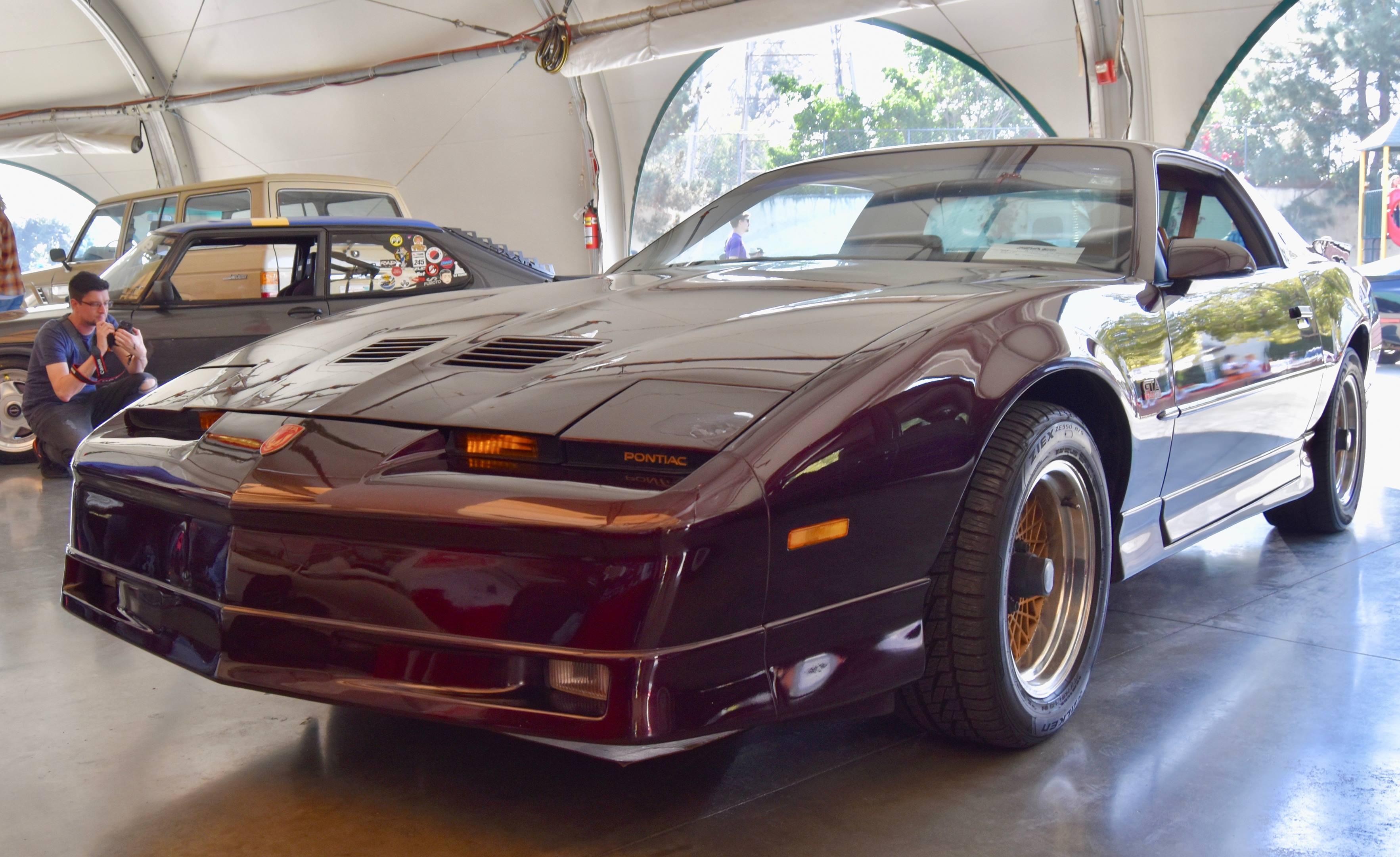 Pontiac Trans Am GTA front
