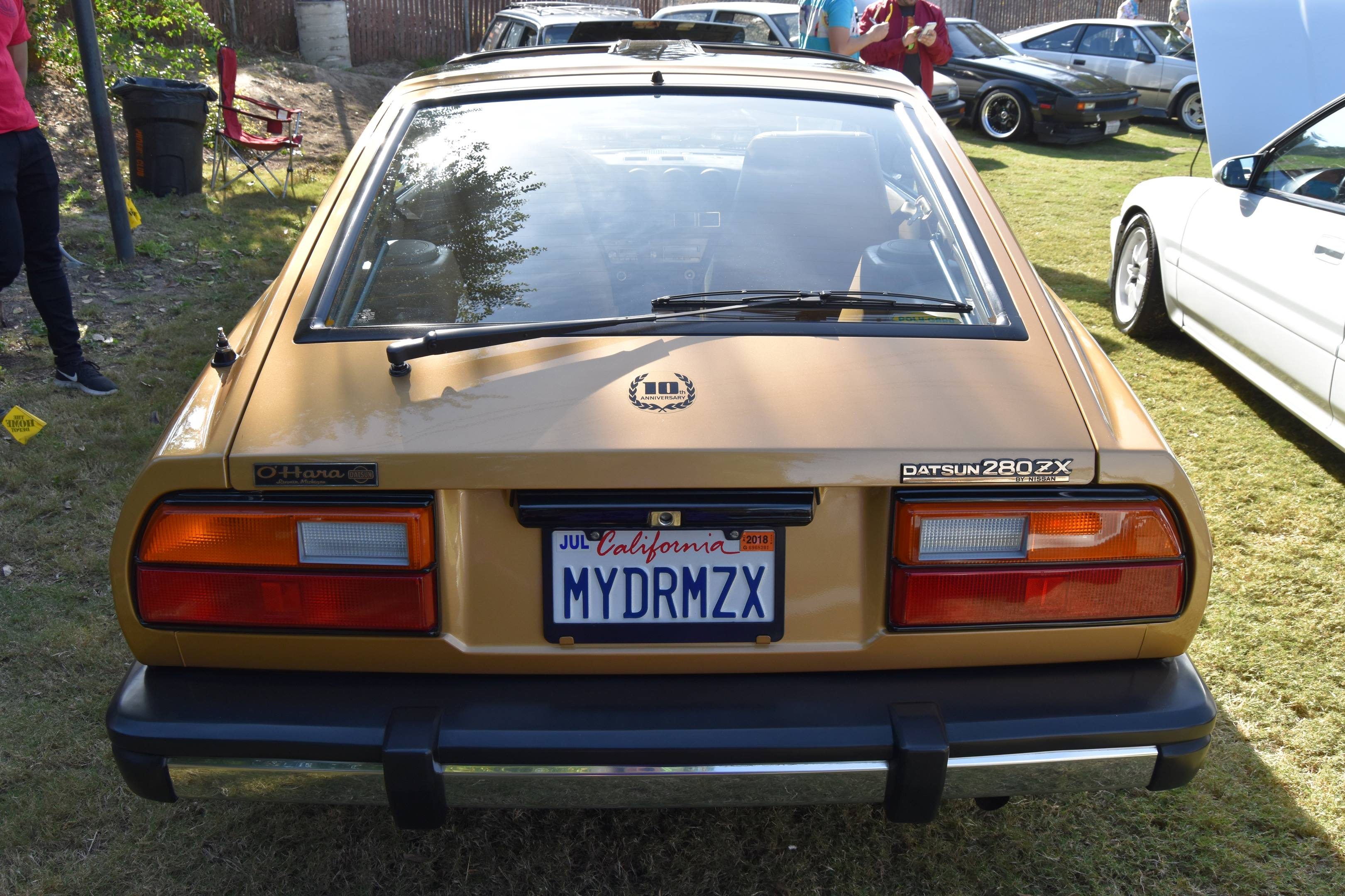 1980 Datsun 280ZX 10th Anniversary Edition rear