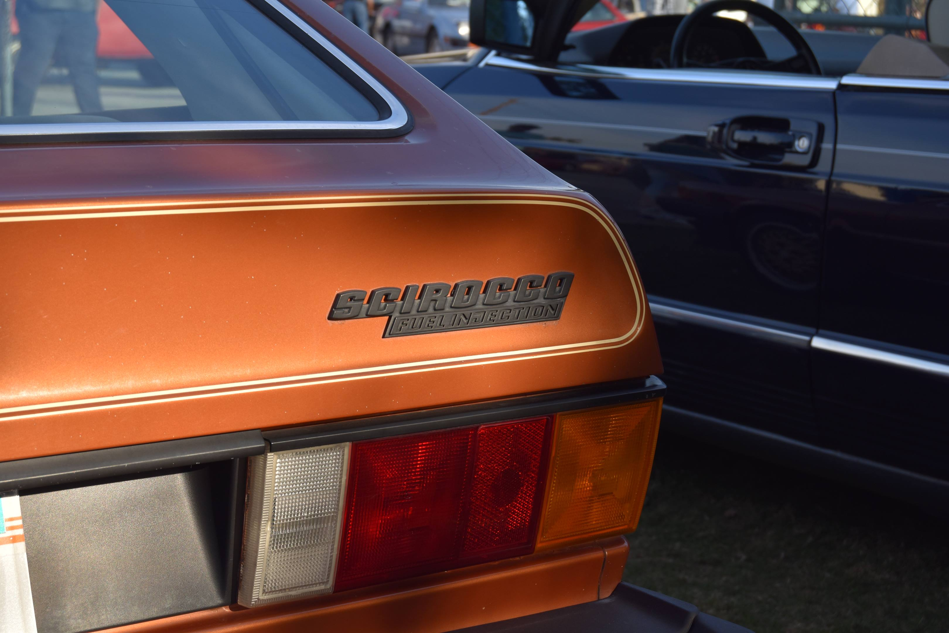 Volkswagen Scirocco rear badge
