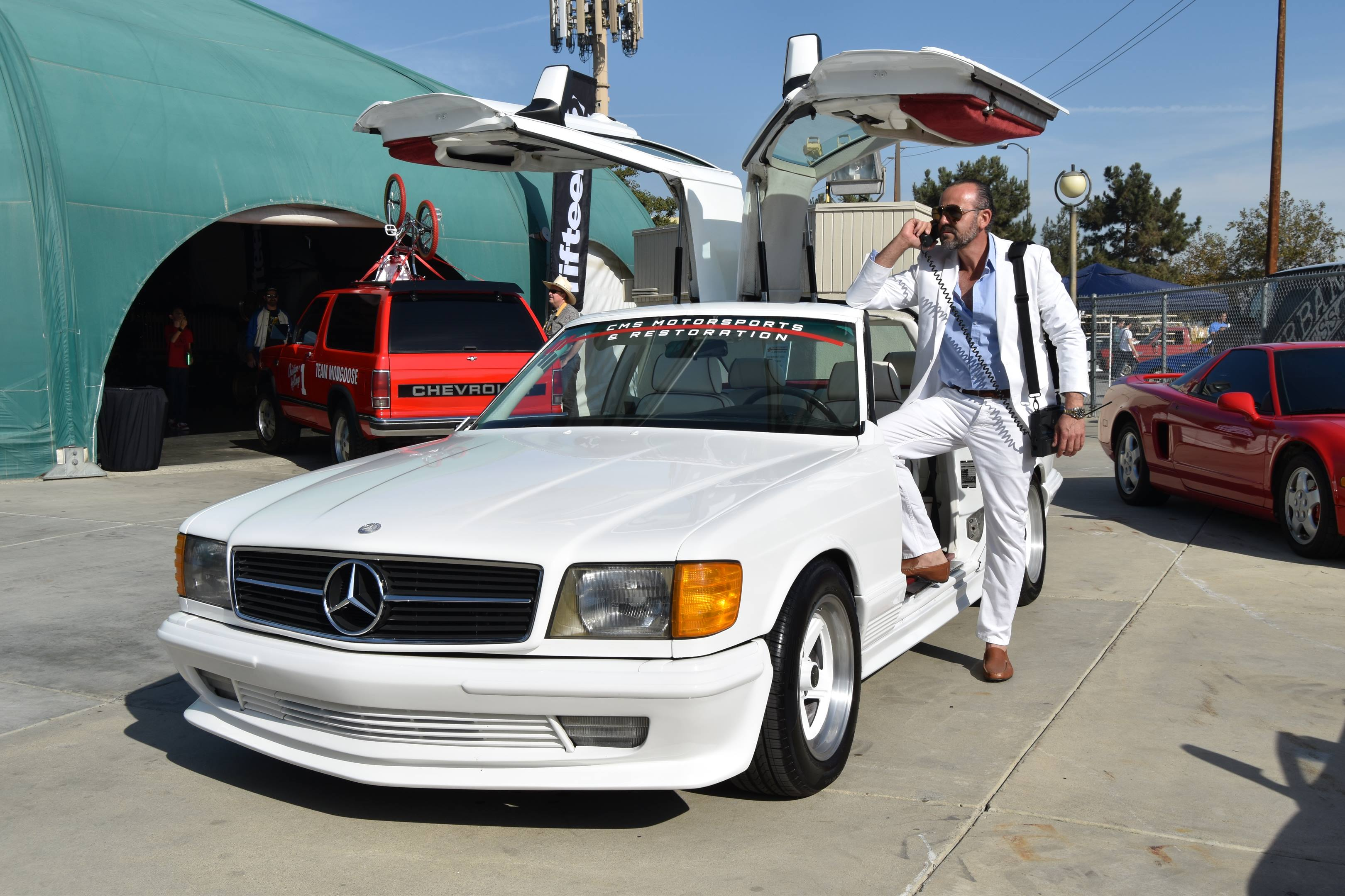 1983 Mercedes-Benz 500SEC Gullwing front
