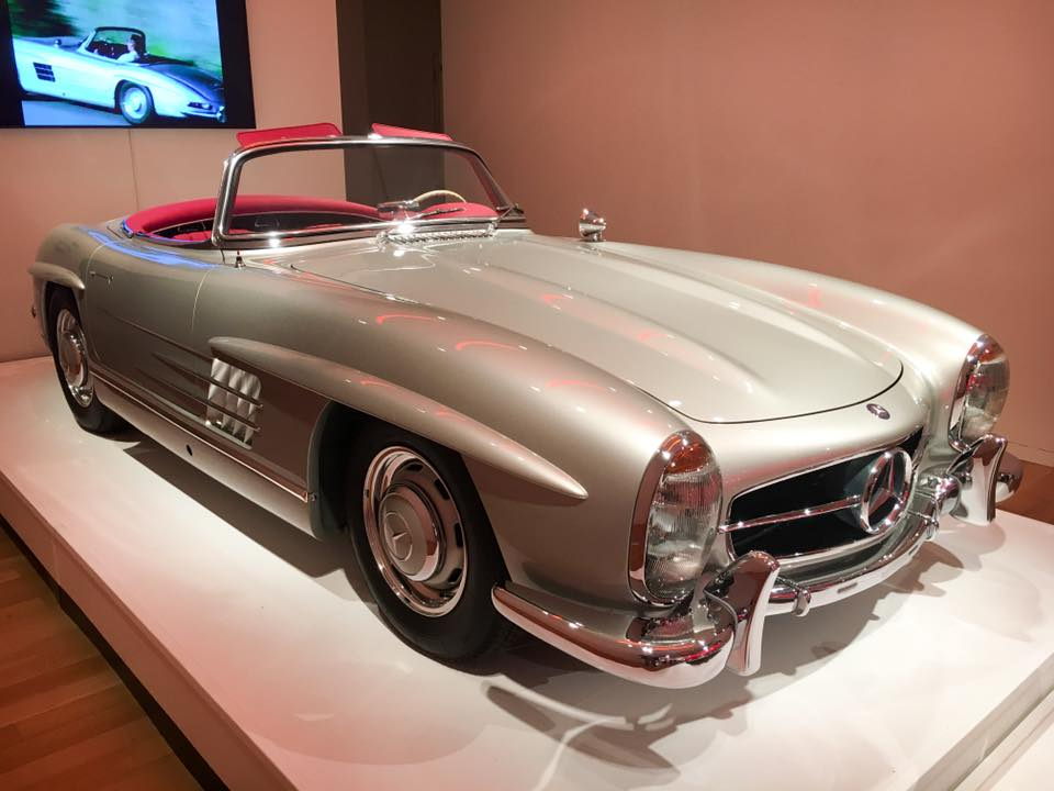 '58 300SL roadster