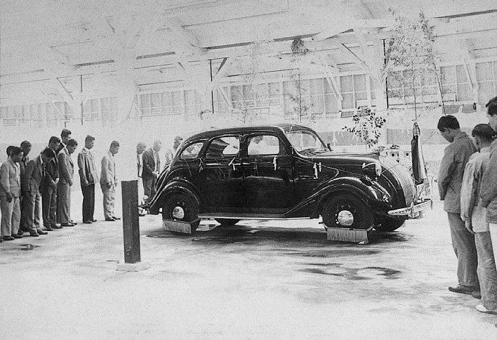 1935 Toyota A1 prototype