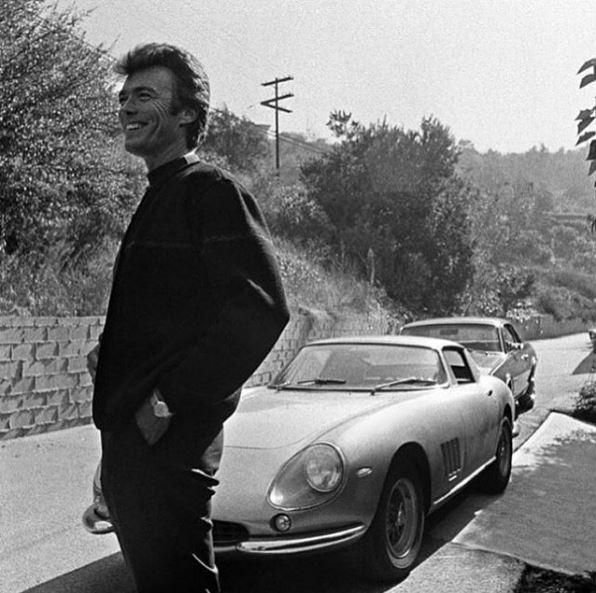 Clint Eastwood Ferrari 275 GTB