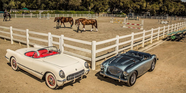 1953 Chevrolet Corvette / 1953 Austin Healey 100-4