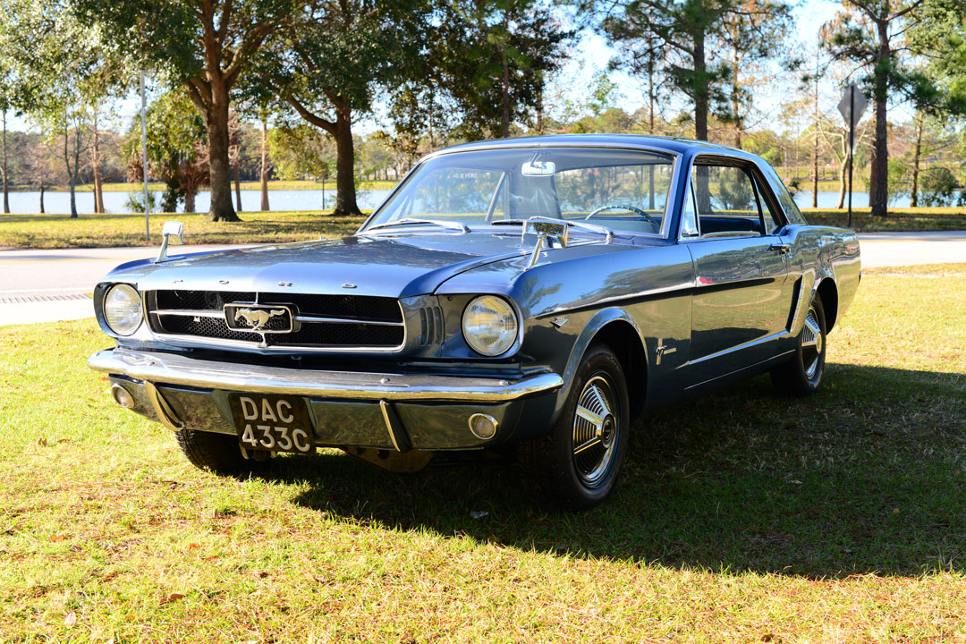 Four-wheel pony: Mustang tested four-wheel drive in 1965 thumbnail