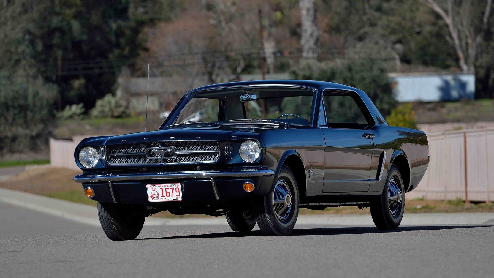 Lowest-available production Mustang (No. 00002) highlights Mecum Indy thumbnail