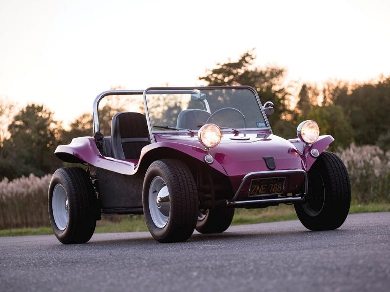 One sign of the exuberance in the sub-$100,000 market in Amelia this year was this 1963 Meyers Manx that sold for $68,750
