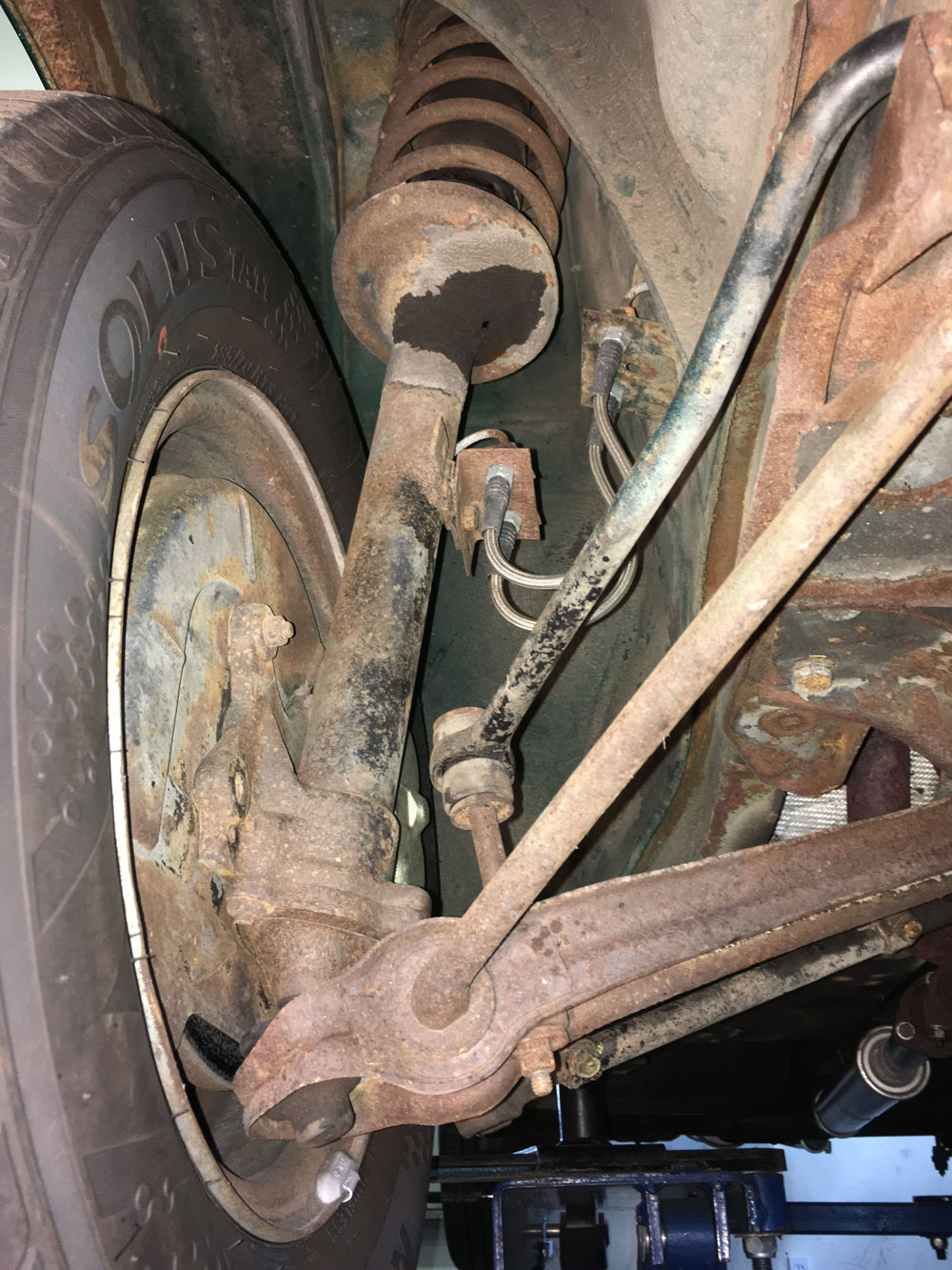 Ensure your cars ball joints are dependable