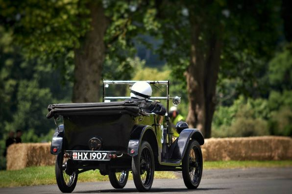 Austin 7 race car