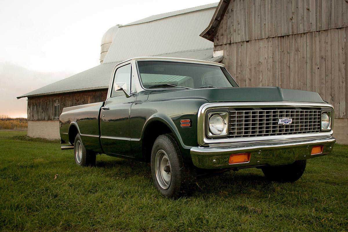 OUR RIDES: Kacy Smith's 1972 Chevrolet C10 thumbnail