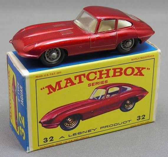 Jaguar Matchbox car