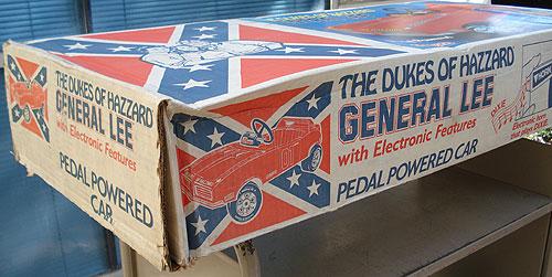 Dukes of Hazard pedal car