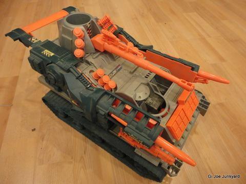 G.I. Joe Brawler missile launcher/tank
