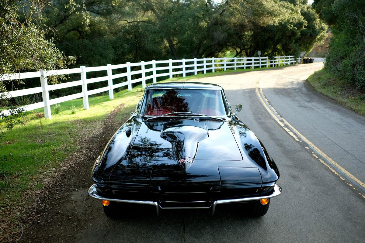 Efimoff's Corvette restomod (Andrew Golseth)