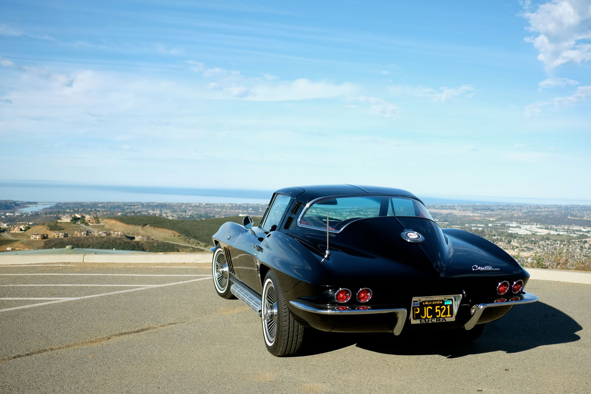 1965 Chevrolet Corvette Sting Ray Rear 3/4