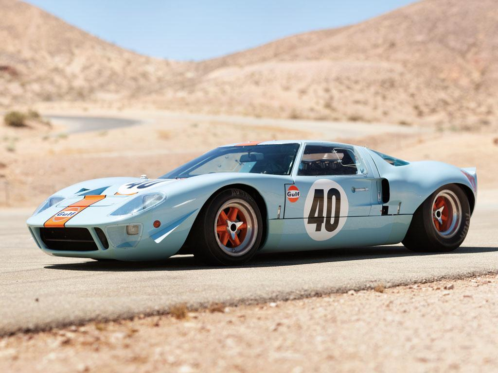 1968 Ford GT40 Gulf/Mirage Coupe