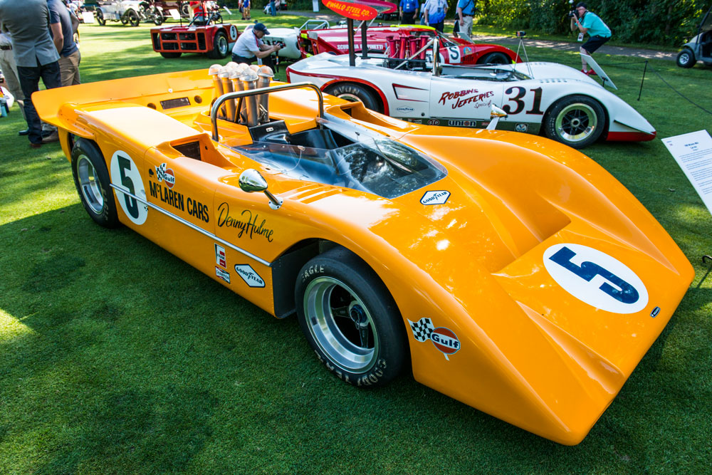 1968 McLaren M8A owned by Lance Butler of Chicago (Josh Scott)