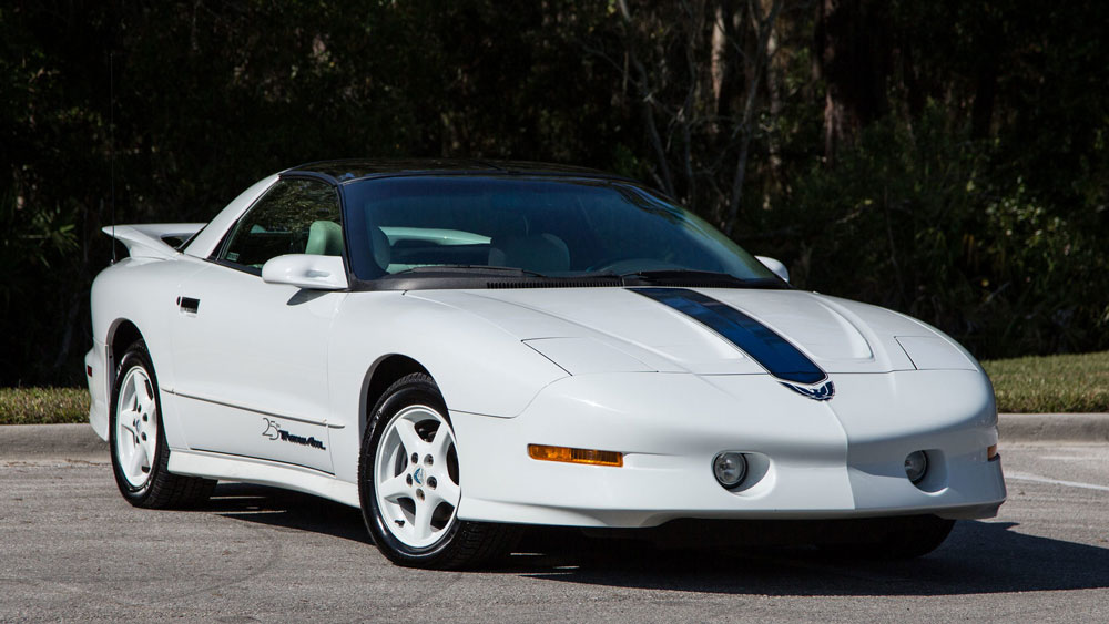 1994 Pontiac Trans Am 25th Anniversary (Mecum)