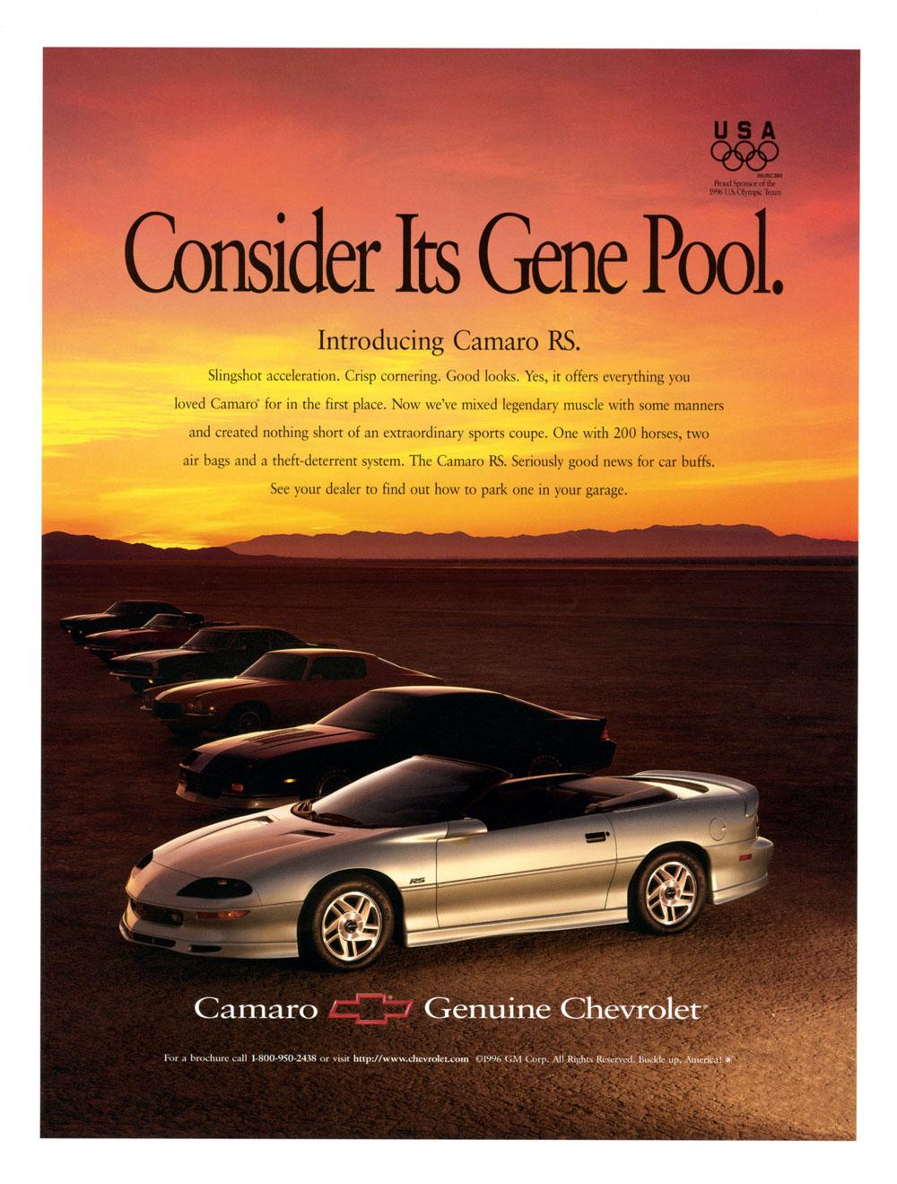 1996 Chevy Camaro