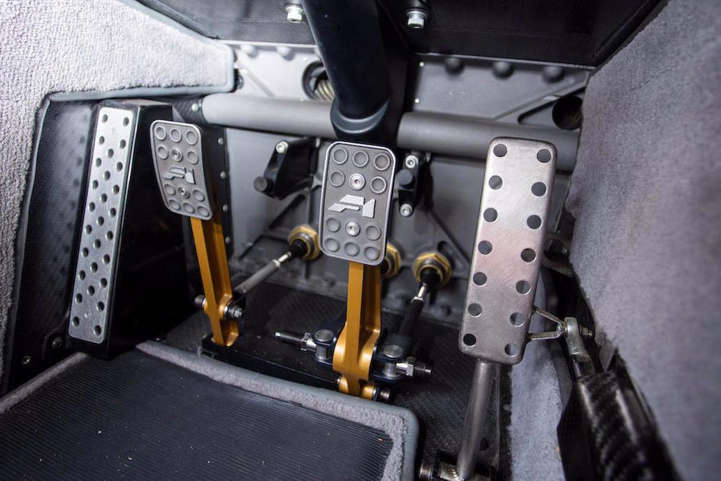 1995 McLaren F1 pedals (Bonhams)
