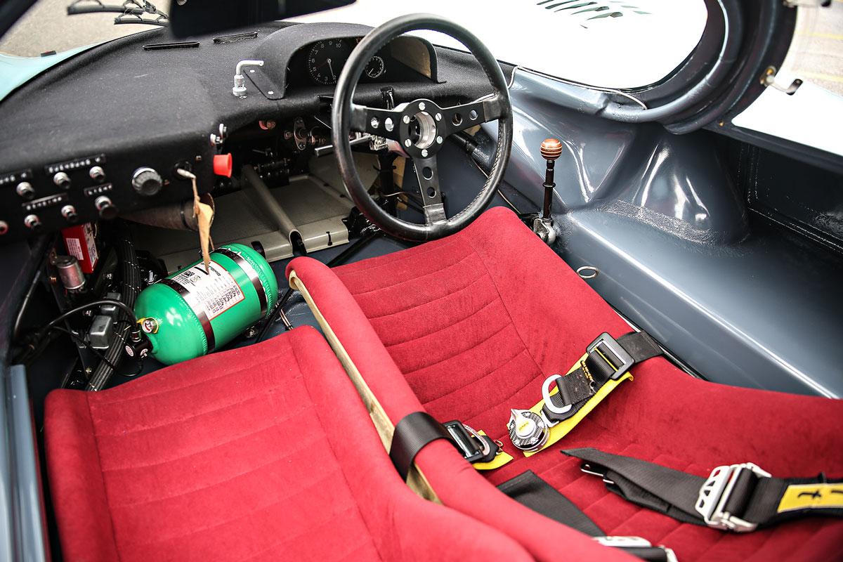 1970 Porsche 917K interior (Gooding & Company)
