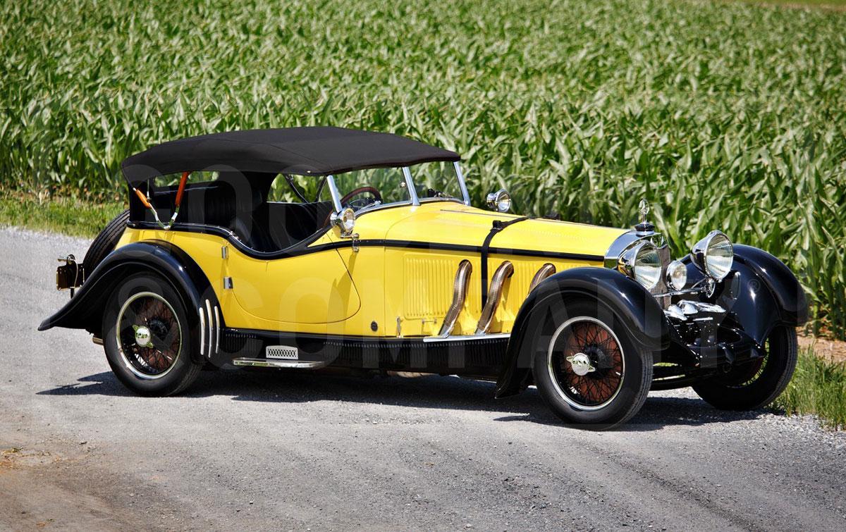 1928 Mercedes-Benz S-Type 26/180 Sports Tourer by Gläser