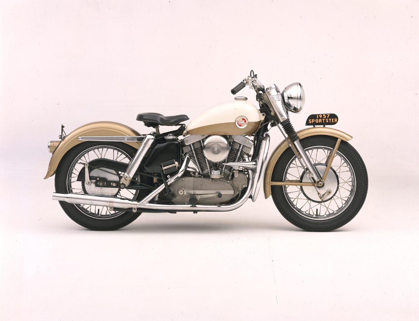 The debut of Sportster in 1957 came with an all new engine and is credited with being the first Superbike.