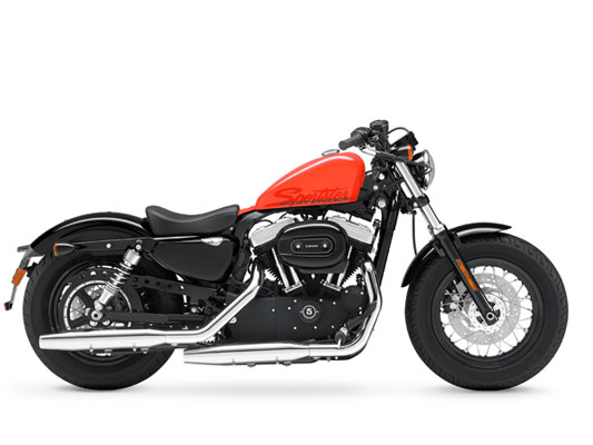 The Sportster XL Forty-Eight was introduced in 2010.