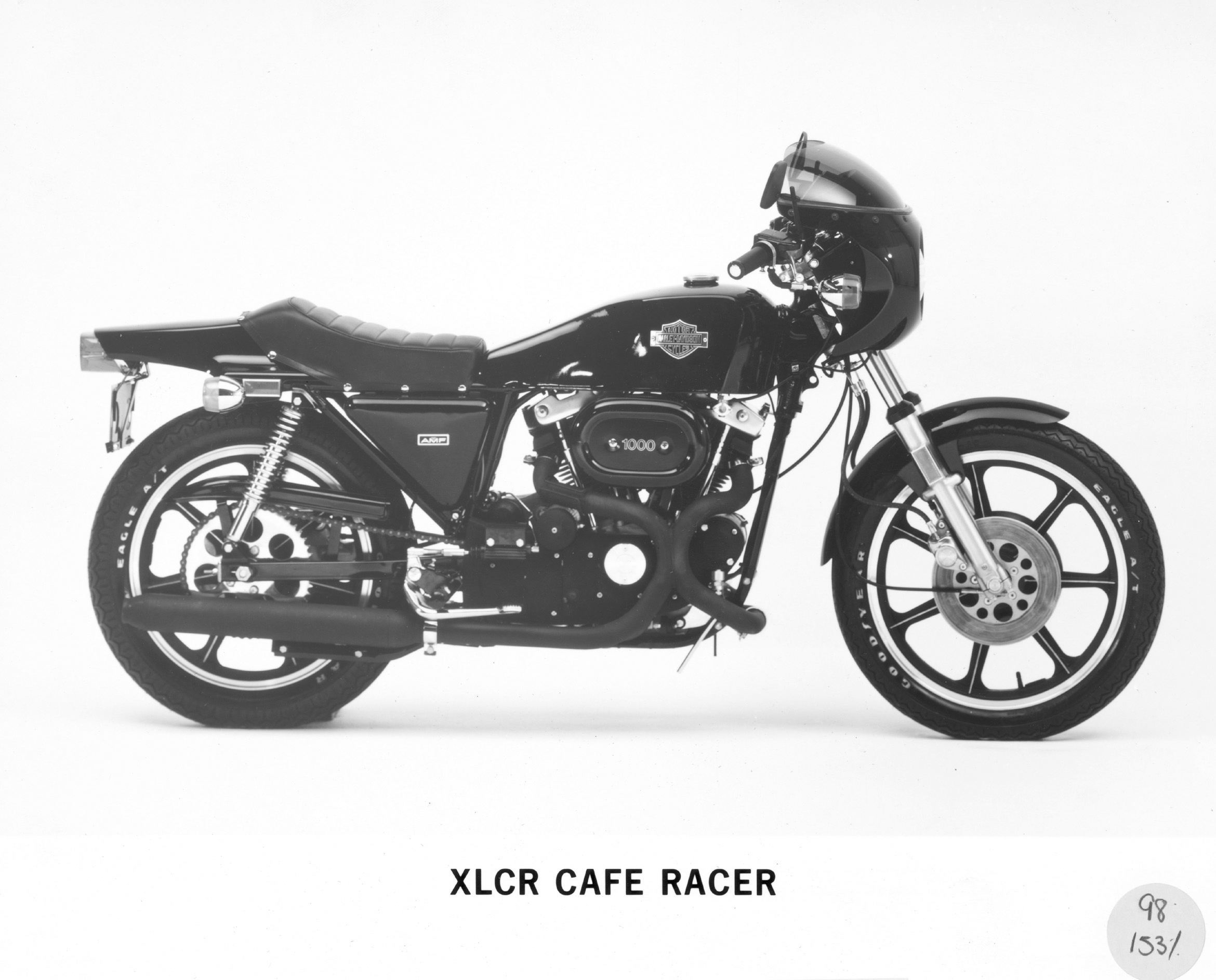 The 1977 XLCR was a cafe racer from the land of bratwurst and Pabst.