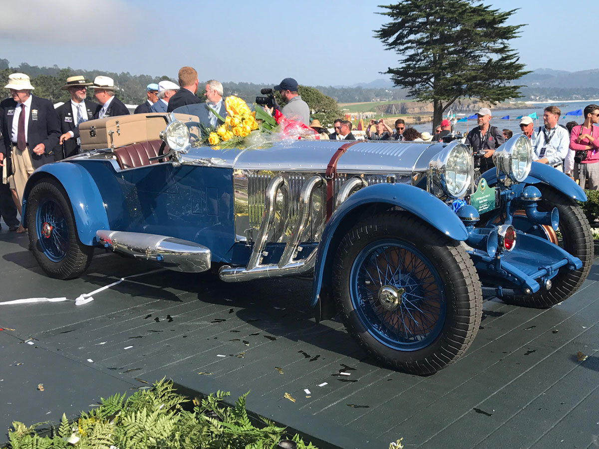 Two brothers vie for Best of Show trophy at the 2017 Pebble Beach Concours d'Elegance thumbnail