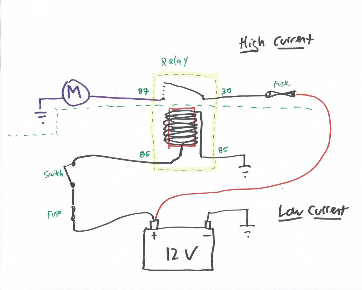 [DIAGRAM_38ZD]  Understanding Relays, part 2: DIN numbers and different types of relay |  Hagerty Media | 87 And 87a Relay Wiring Diagram |  | Hagerty