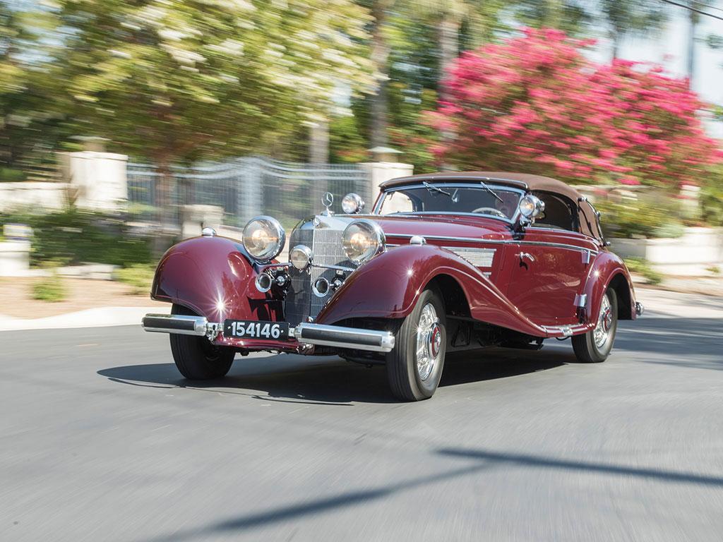 1937 Mercedes-Benz 540K Sport Cabriolet