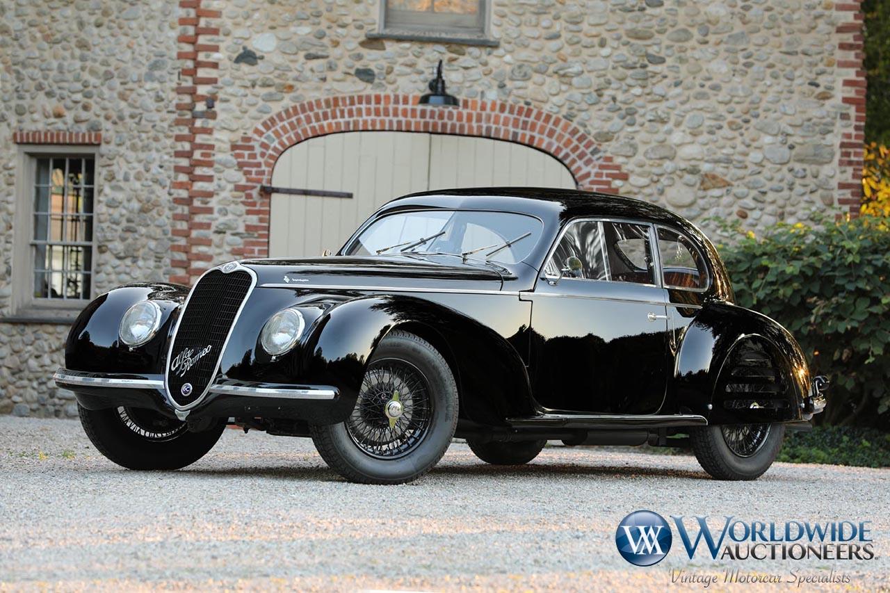 1939 Alfa Romeo 6C 2500 Sport Berlinetta by Touring