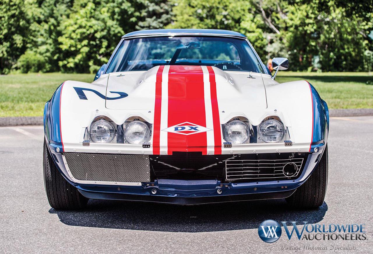 1968 Chevrolet Corvette L-88 Sunray-DX Race Car (Worldwide Auctioneers)