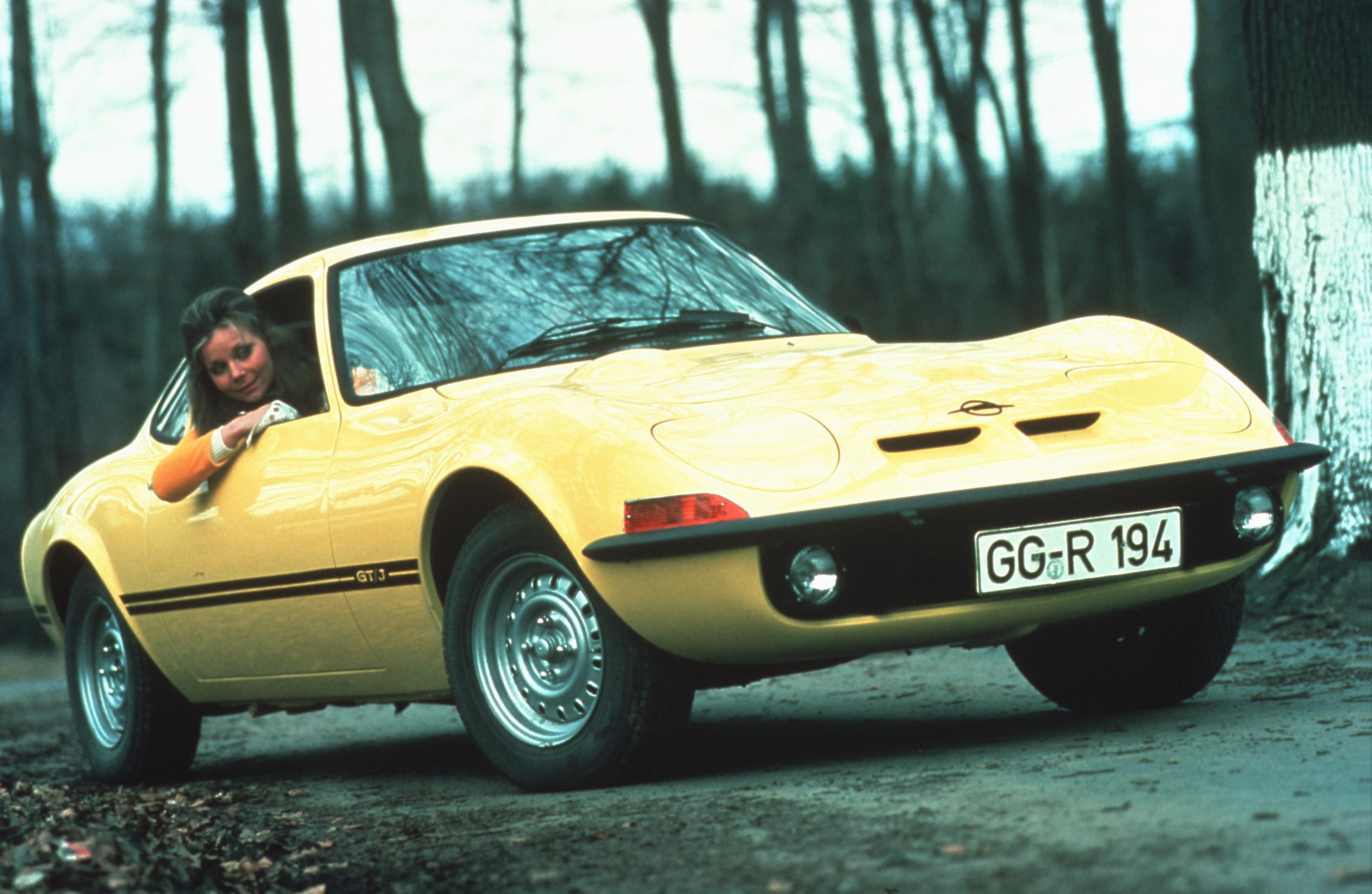 1971 Opel GT advertisement