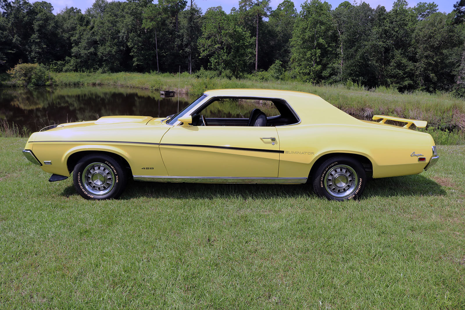 1969 Mercury Cougar Eliminator profile