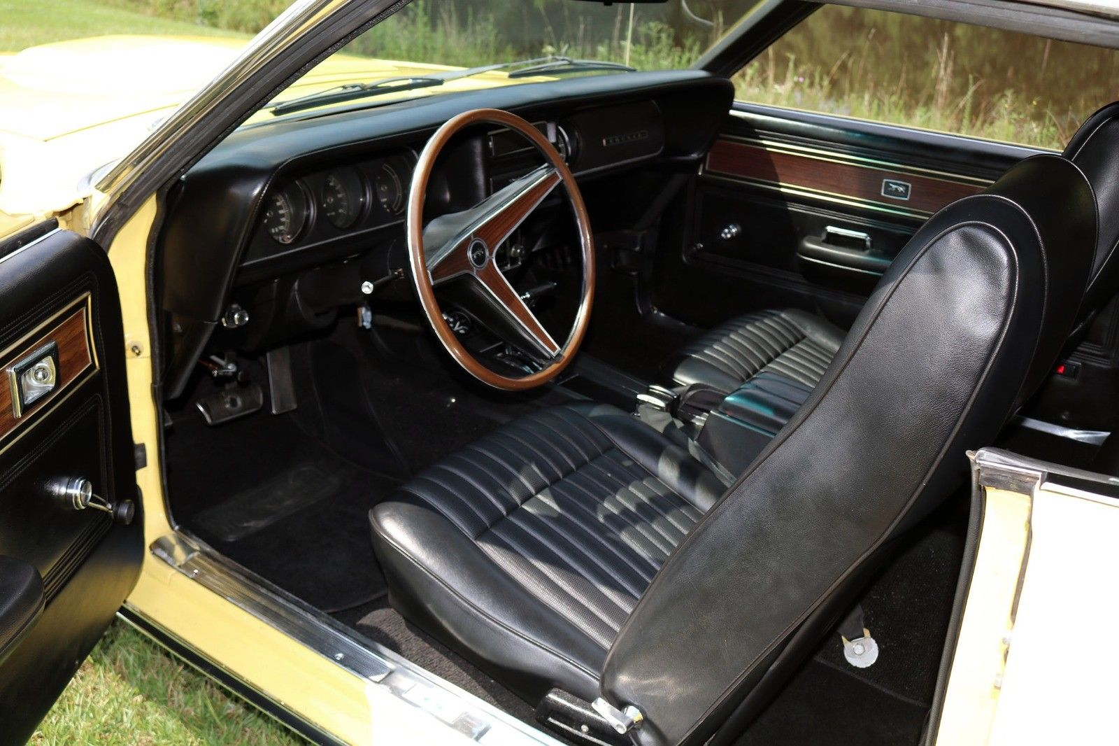 1969 Mercury Cougar Eliminator interior