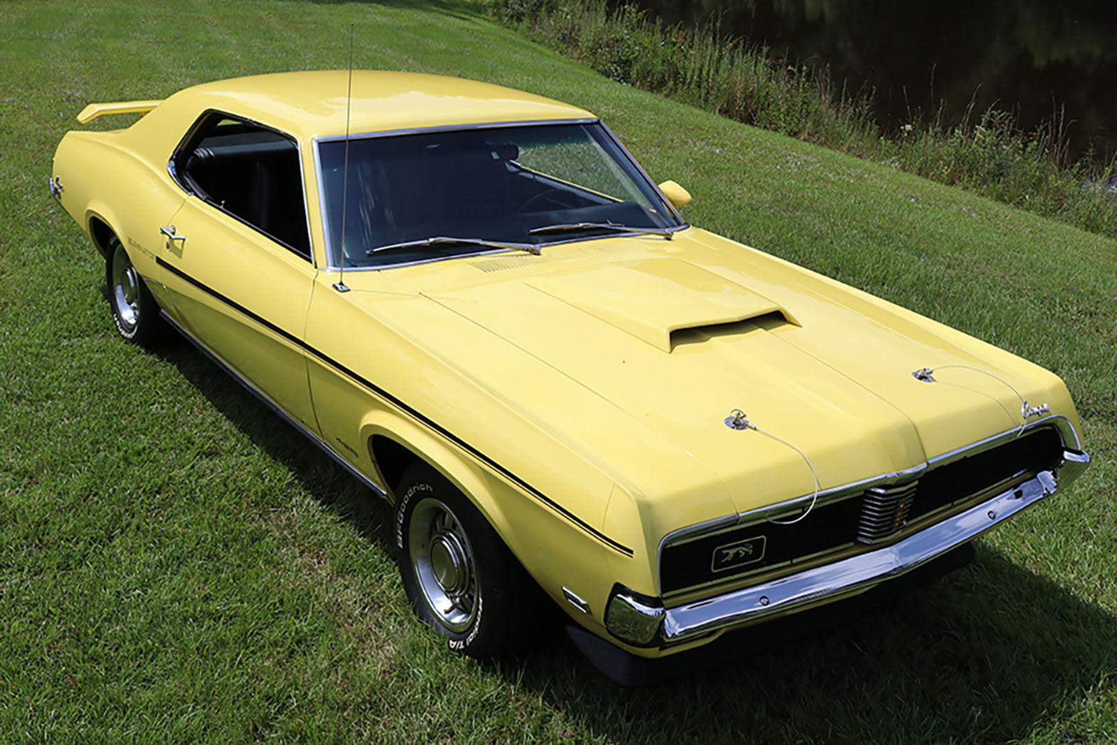 1969 Cougar Eliminator front 3/4
