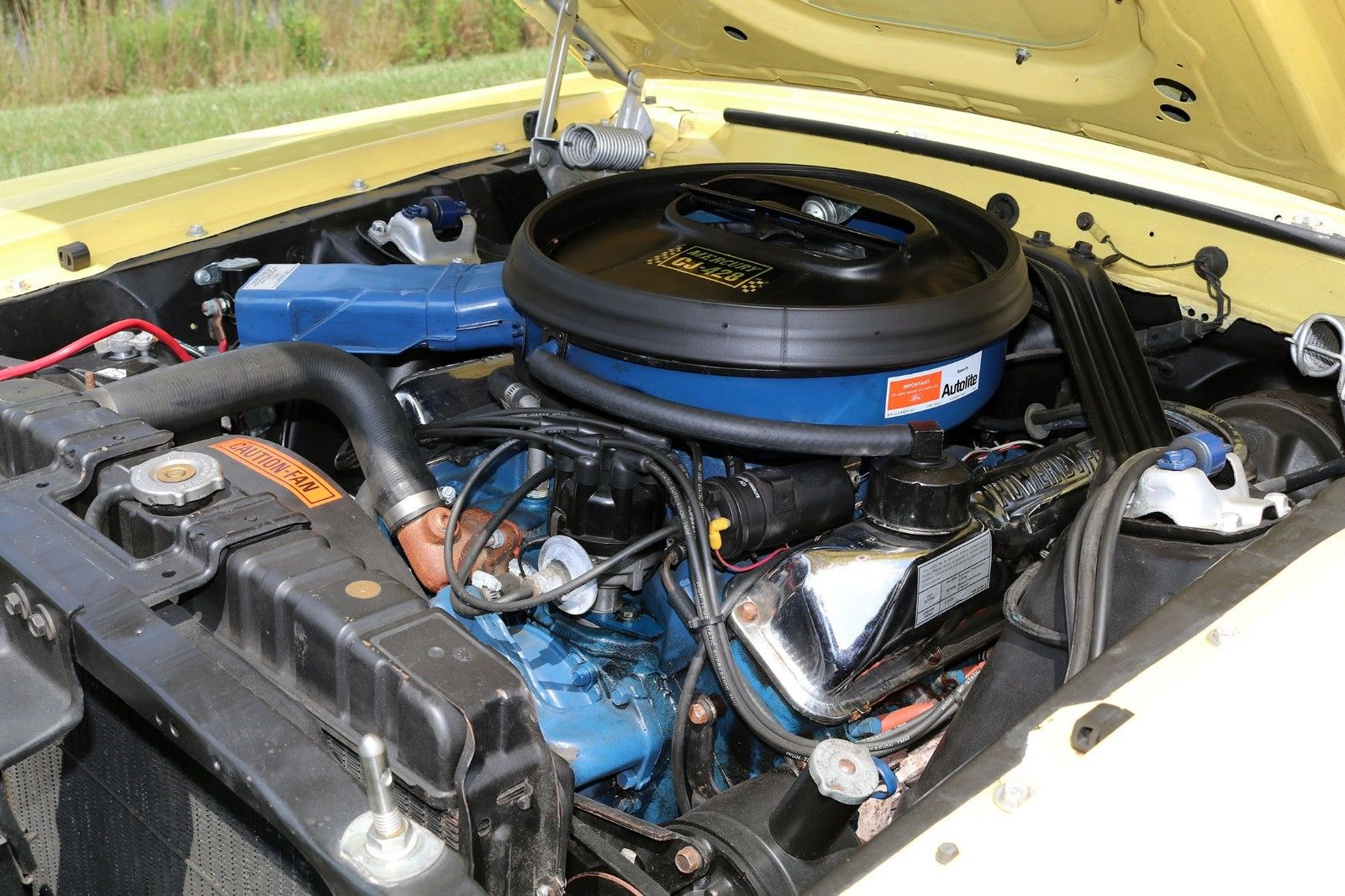 1969 Mercury Cougar Eliminator engine