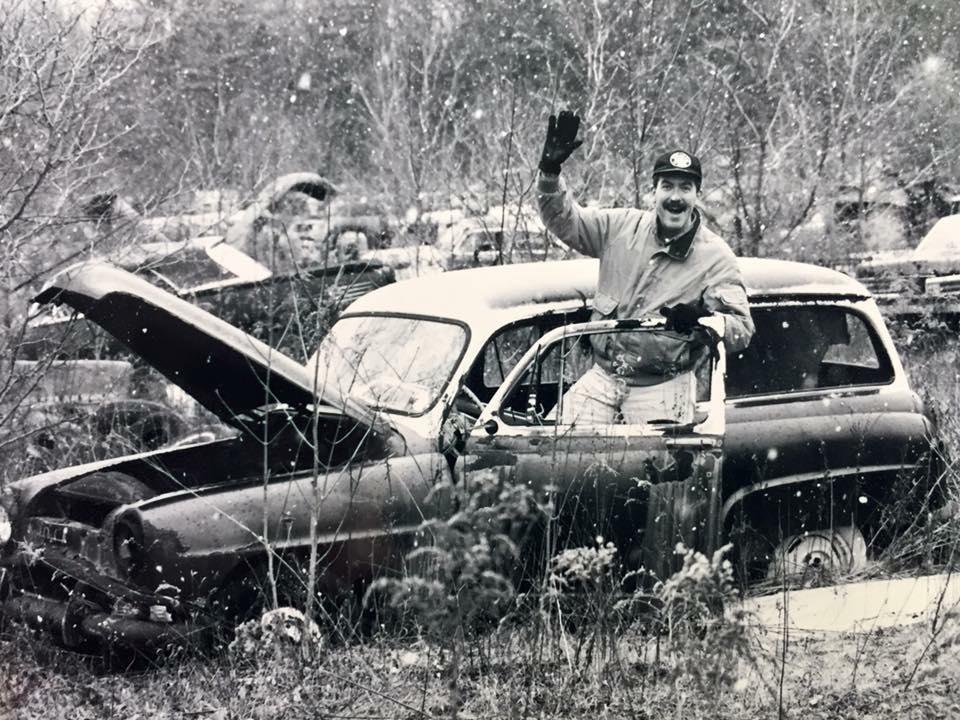Richard Pastecchi's craziest junkyard car find was this 1950s Opel Rekord