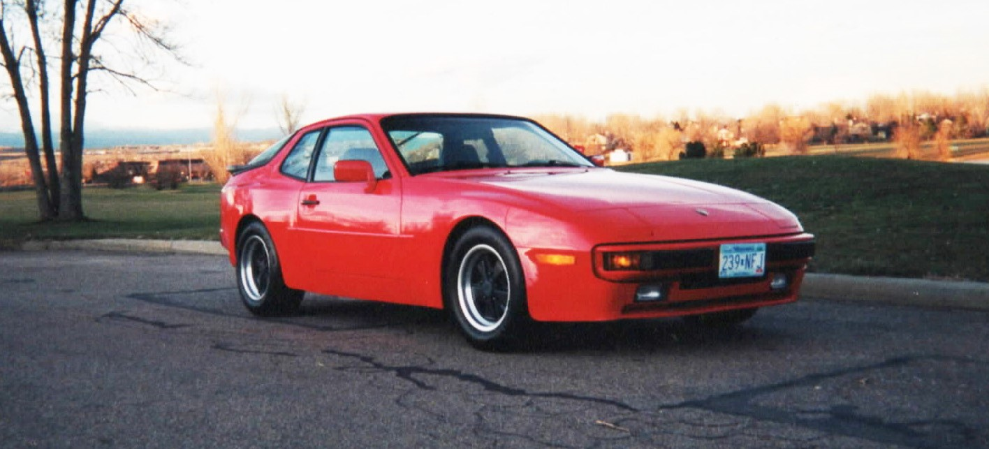 Bill Cunningham restored this 1984 Porsche 944 after finding it in a junkyard