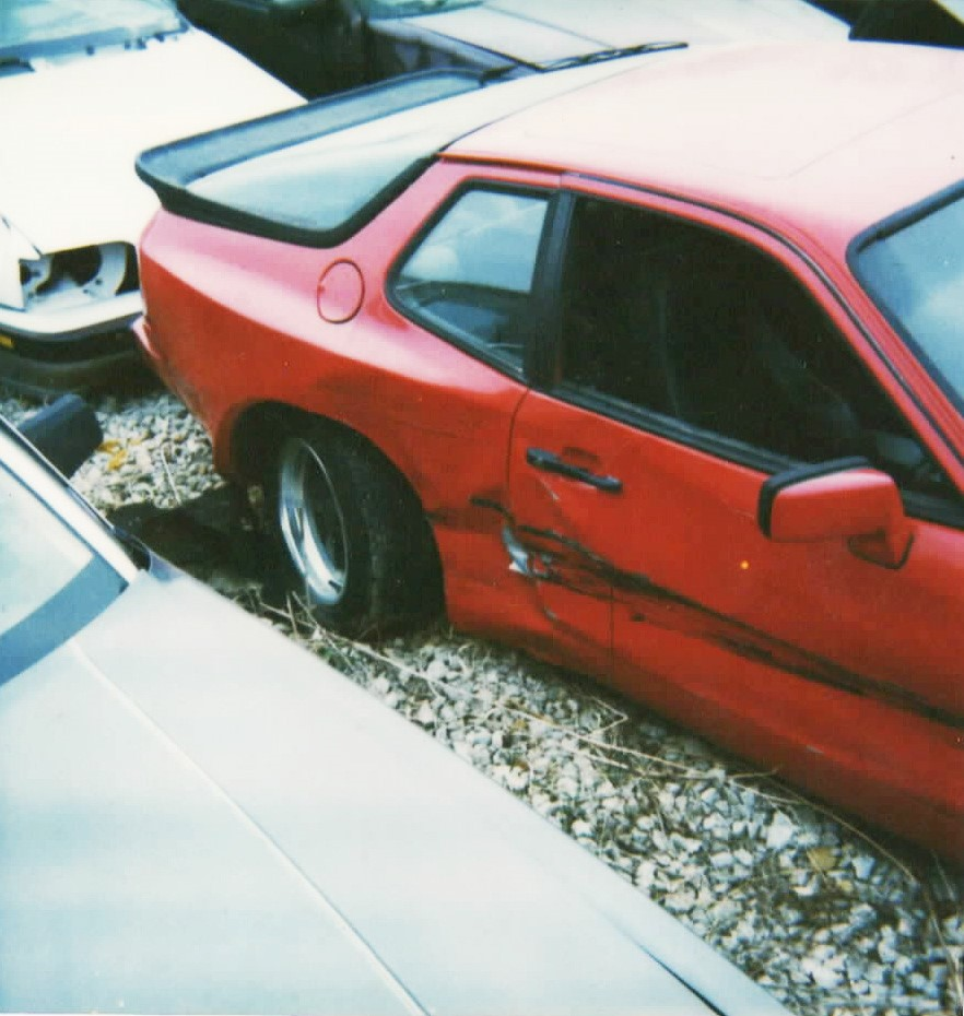 Bill Cunningham's 1984 Porsche 944, before he restored it