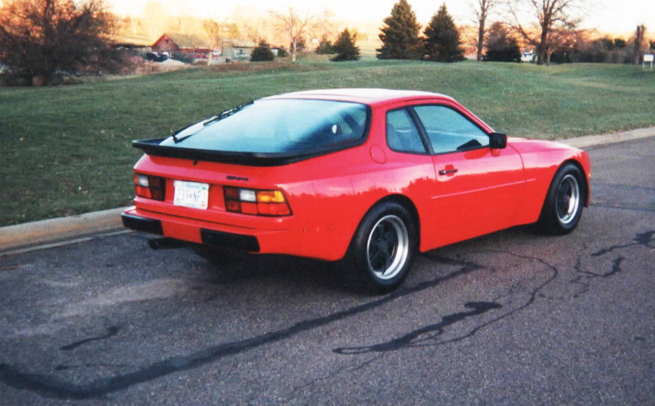 Bill Cunningham's 1984 Porsche 944, after restoration