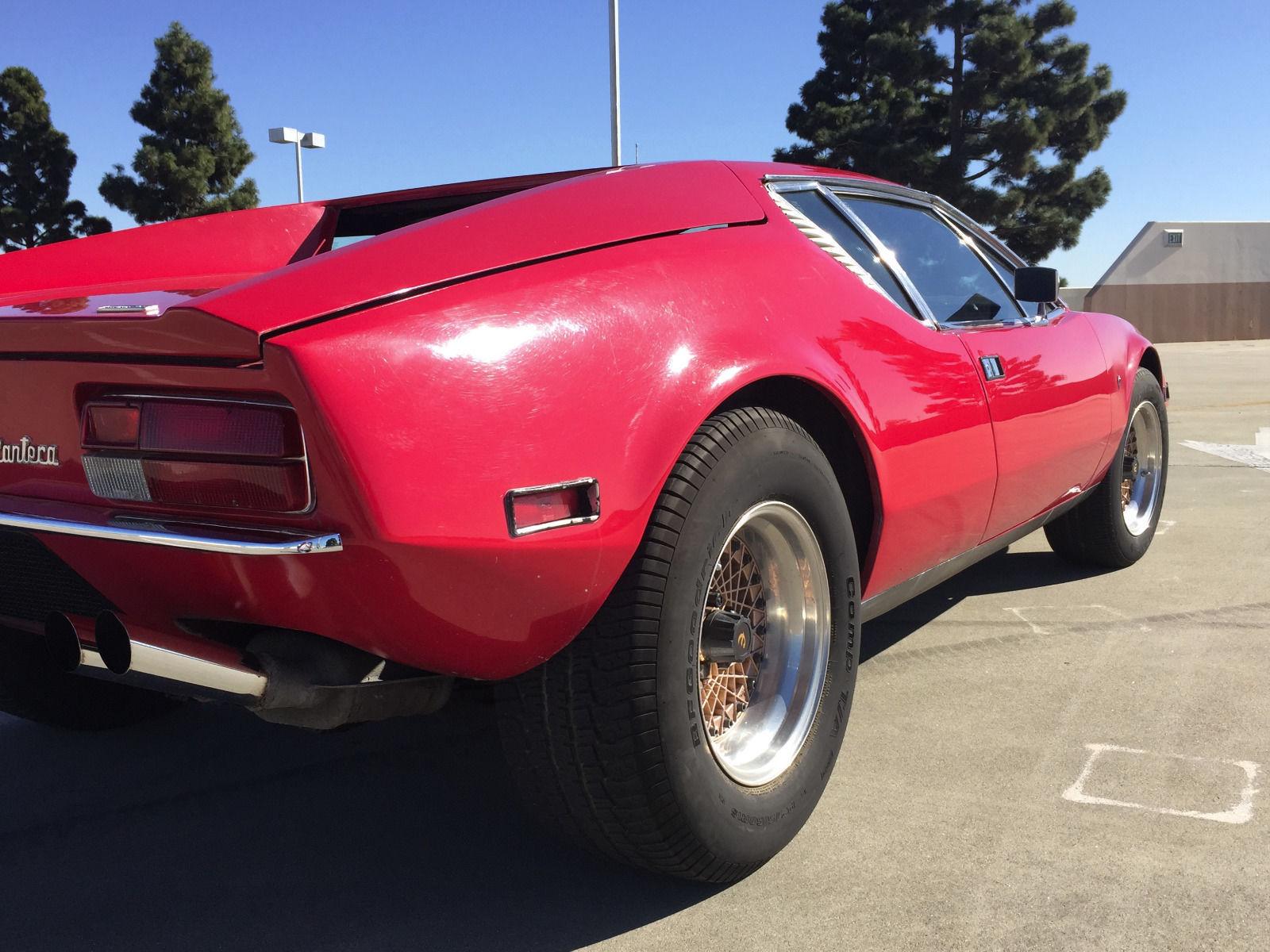 ebay 1972 detomaso pantera rear