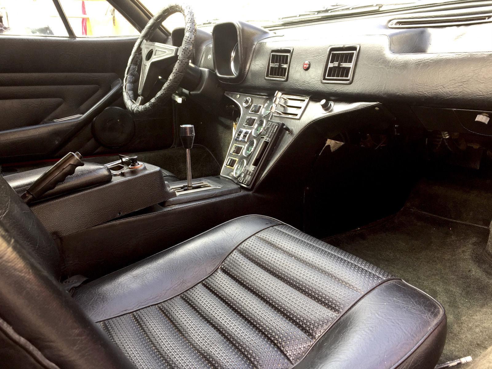 1972 detomaso pantera ebay interior black