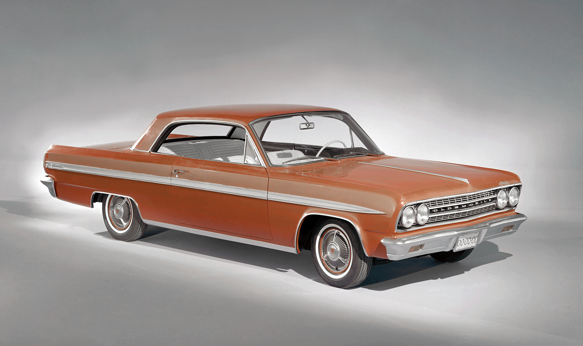 1963 oldsmobile f85 jetfire coupe red