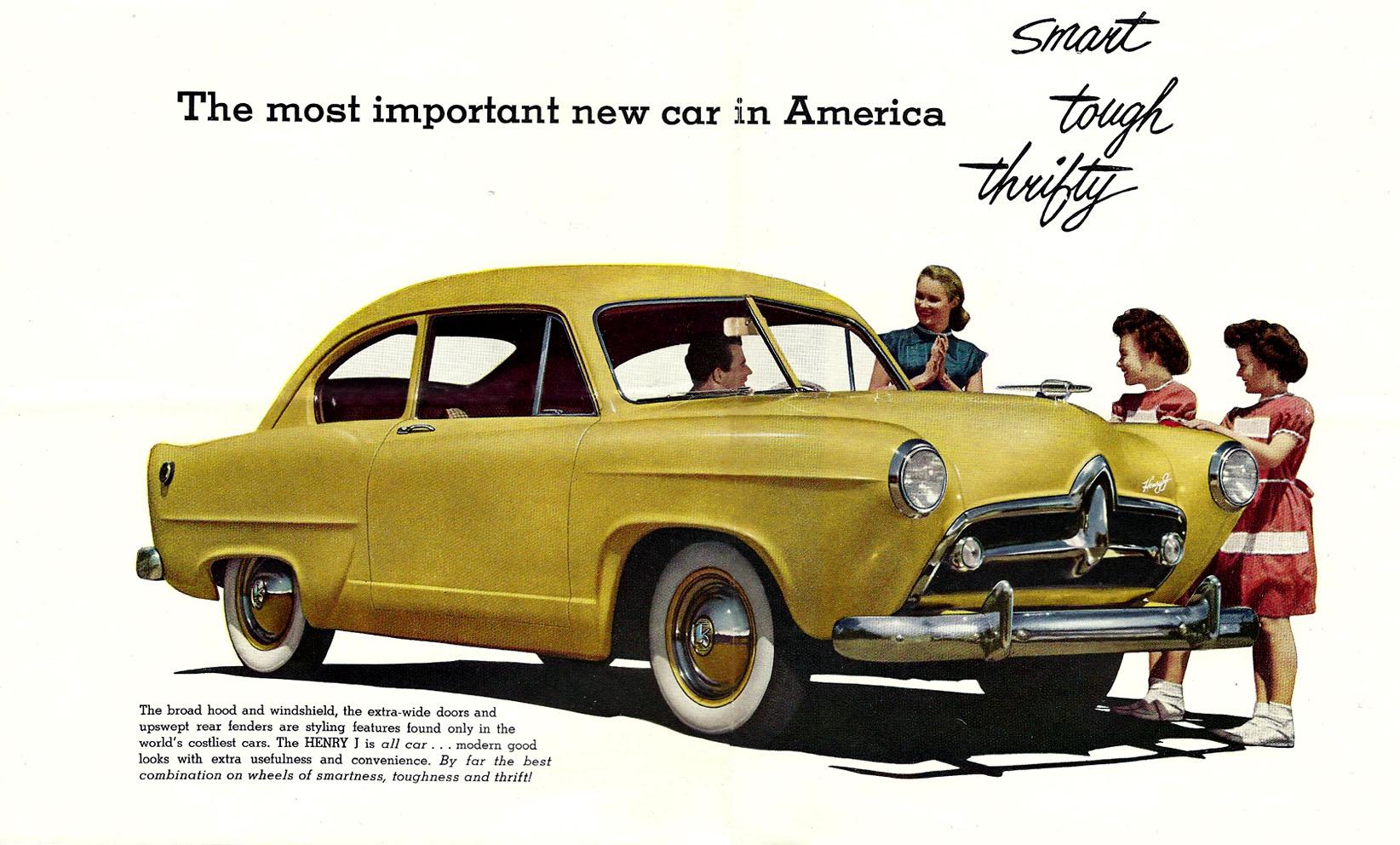 1951 Henry J advertisement