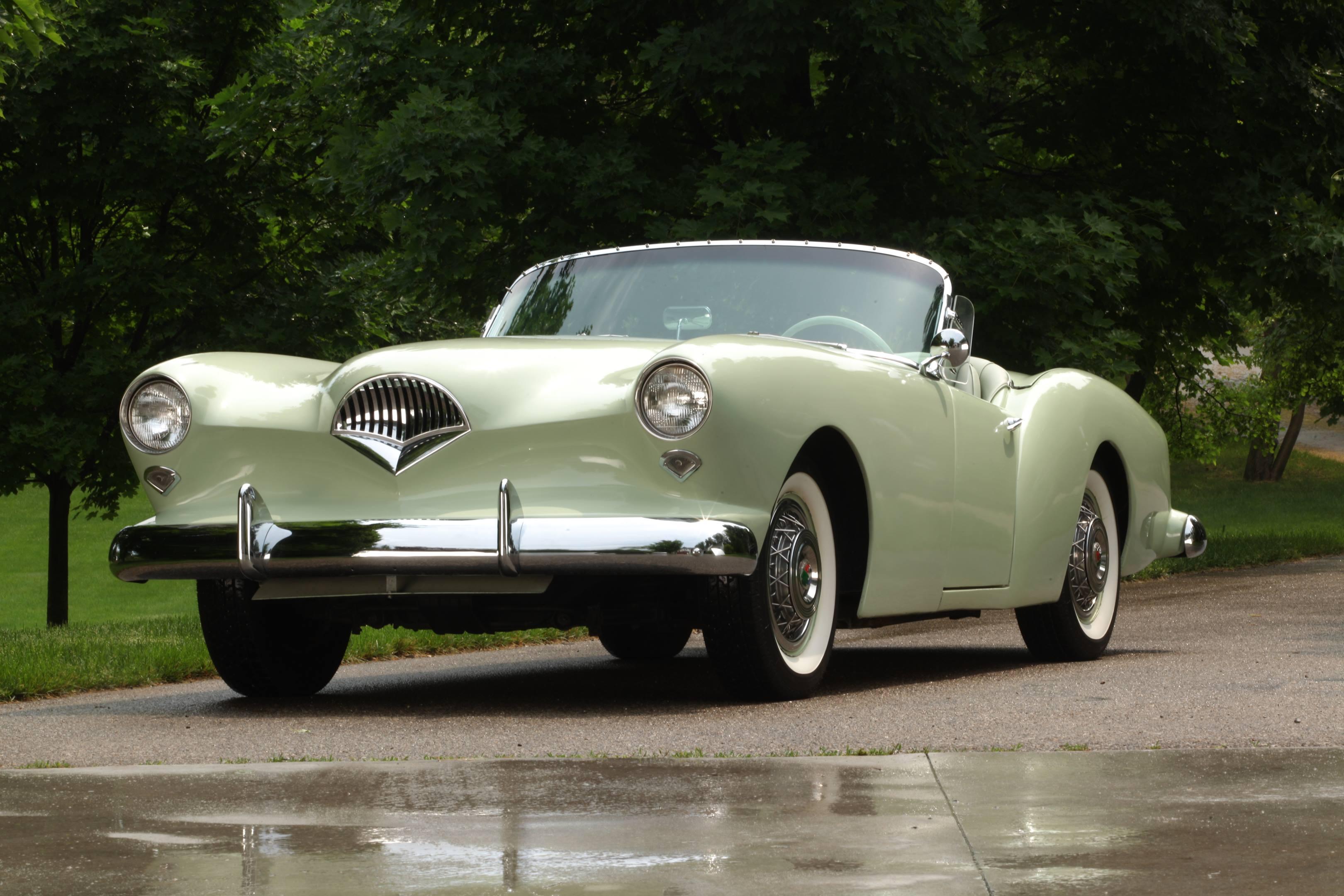 1954 Kaiser Darrin front 3/4