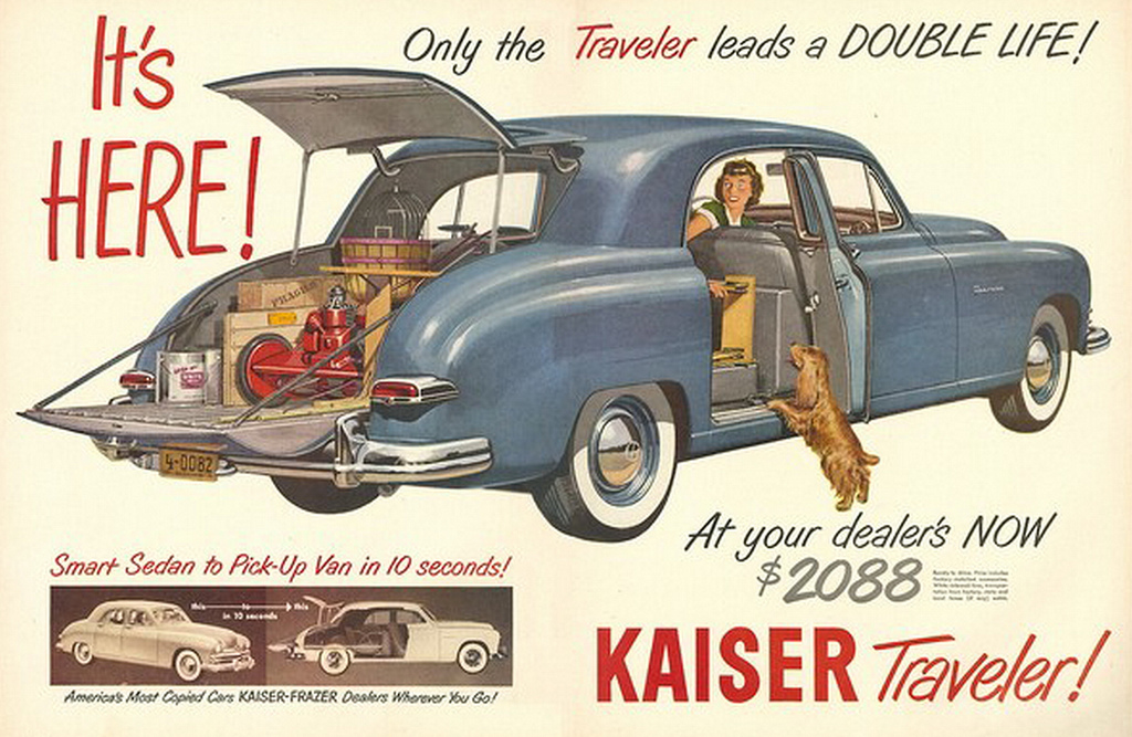 Kaiser-Frazier Traveler advertisement